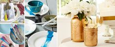 Haal de zon naar je tafel met servies en bestek in zomerse kleuren! Vase, Bottle, Home Decor, Decoration Home, Room Decor, Flask, Vases, Home Interior Design, Jars