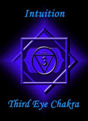 °Third Eye Chakra ~ Intuition • I See only Love, I See only Truth, I See Myself with Love.