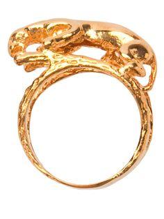 Jaguar Ring from Art of Henri, looks like a Nittany Lion :)