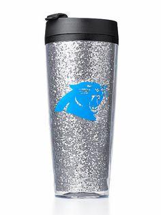 Carolina Panthers Coffee Tumbler ANDDDD it's on clearance. Football Love, Braves Baseball, Football Season, Nfl Football, Panther Football, Carolina Panthers Gear, Carolina Panthers Football, Nfl Panthers, Luke Kuechly