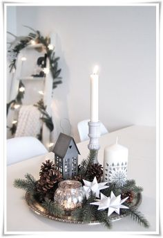 Elegant New Years Eve Candle