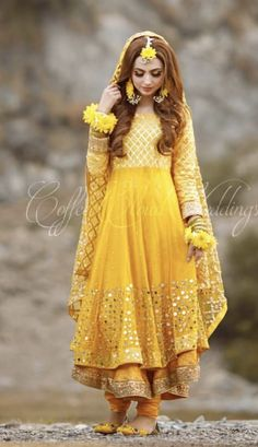 Nov 2019 - Latest Pakistani Designers Bridal Dresses & Embroidery Collections, Wedding Lehenga, Sharara best price for every woman Shop from our Elegant Pakistani Mehndi Dress, Bridal Mehndi Dresses, Pakistani Fashion Party Wear, Mehendi Outfits, Pakistani Wedding Outfits, Indian Fashion Dresses, Pakistani Dresses Casual, Bridal Dress Design, Pakistani Wedding Dresses