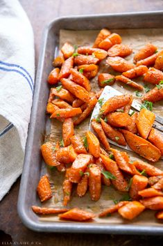 Oven Roasted Carrots | Easy and Delicious - Ella Claire & Co.