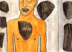 PIETRE - 2015 (watercolour on paper) #contemporaryart #artecontemporanea #artcontemporain #contemporarypainting #artecontemporaneo #kunst