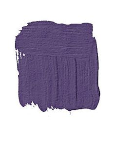 Mystical Grape #PurplePaint for our Front Bedroom Chimney Breast with Massive Ornate Black with Gold Distress Mirror?