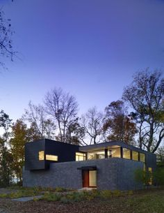 House Design flat roof contemporary