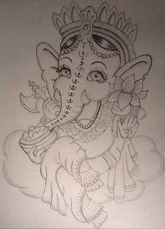 Ganesha, Dream Catcher, My Arts, Tattoos, Artwork, Dreamcatchers, Tatuajes, Work Of Art, Auguste Rodin Artwork