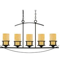 5 light island ceiling pendant ideal for a kitchen island