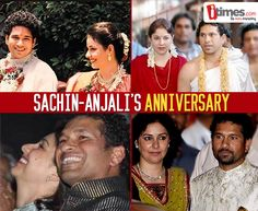 It was love at first sight for #SachinTendulkar & #Anjali at the Airport. Join us in wishing the lovely couple a very #HappyAnniversary. Their life in pics