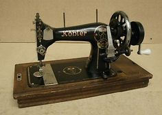 Sewing machine love on pinterest sewing machines for Machine a coudre kohler ancienne