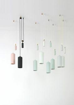 höhenverstellbare pendelleuchten von studio wm