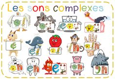images sons complexes Alphas Plus Read In French, Learn French, French Class, French Flashcards, French Phrases, Phonemic Awareness, Teaching French, Letter Sounds, Logo Inspiration