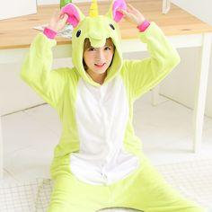 Green Pegasus Adult Unicorn Pajamas Unicorn Onesies Animal Pajamas Onesies Adult Animal Onesies Pajamas Christmas Pajamas #Affiliate