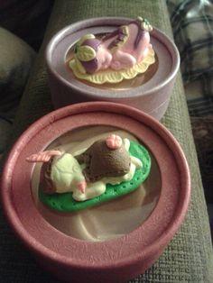 Mis bebés de porcelana fría. También en pasta felxible, fimo, arcilla polimérica.