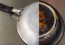 Asa faci luna o tigaie arsa in maxim 10 minute! Griddle Pan, Wok, Good To Know, Home Remedies, Cleaning Hacks, Orice, Shake, Noiembrie, Kitchen Ideas