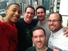 #Selfie. A look behind the scenes of our work with US Sports website #BleacherReport, covering Australian #basketball young-gun #DanteExum. #Filming for a week in #Melbourne - this was the #penthouse portion in South Bank