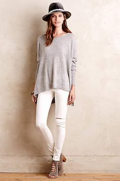 Avital Cashmere Pullover - #anthrofave