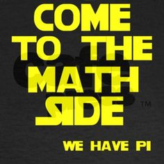 Come to the math side T-Shirt on CafePress.com