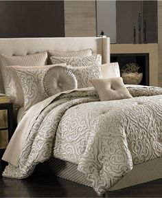 J Queen New York Astoria California King Comforter Set - Bedding Collections - Bed & Bath - Macy's Comforter Sets, Comforters, Mattress Furniture, King Comforter Sets, King Bedding Sets, Bed, Luxury Bedding, Bedding Sets, Bedding Collections