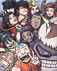 Avatar group selfie