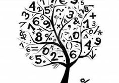 Illustration of Art tree with math symbols for your design vector art, clipart and stock vectors. Math Board Games, Math Boards, Fun Math Games, Math Logo, Math Is Everywhere, Math Wallpaper, Math Design, Math Homework Help, Math Help