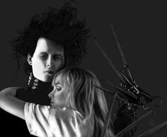 You see, Before he came down here, It never snowed. And afterwards, It did. If he weren't up there now...I don't think it would be snowing. Sometimes you can still catch me dancing in it.  -Edward Scissorhands.
