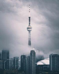 Ideas For Photography Inspiration City Cityscapes Toronto Canada, Toronto City, Canada Eh, London City, Toronto Photography, Nature Photography, Photography Ideas, Torre Cn, Vancouver