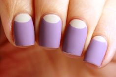 Half Moon Nail Art Designs To Try