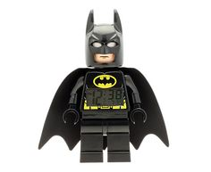 LEGO® DC Comics™ Super Heroes Batman™ Minifigure Clock  | LEGO Shop