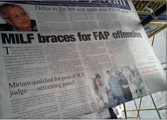 Funny newspaper headline
