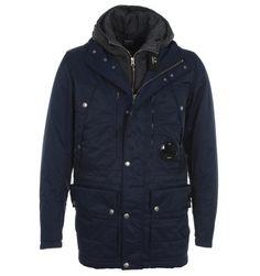 CP Company Jackets. CP Company Dark Blue Urban Protection Parka Jacket