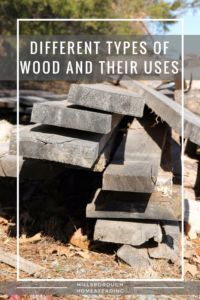 Different types of wood and their uses. Oak, Hickory, Chestnut. Some make better fences, others make better furniture. What kind of wood do you have on your Homestead?