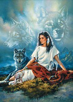 Wolf Glitter Graphics  | Un omaggio a un grande popolo, il più fiero , un piccolo viaggio ...