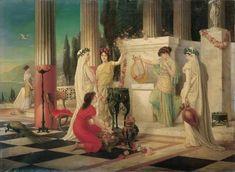 Las vestales de la Antigua Roma.