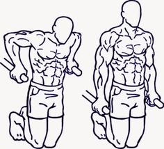 """Rutina de ejercicios sin pesas para hombres delgados, ectomorfos o """"flacos"""" ~ Salud física, mental y espiritual"""