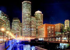 #Boston at night