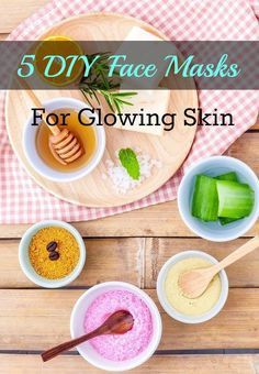 These DIY face masks are key to healthy, glowing skin. Whether you suffer from acne, blackheads, dry, or sensitive skin, try these homemade masks whenever you need a skin refresh!