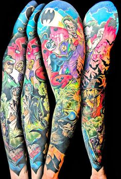 A lot of ink but awesome