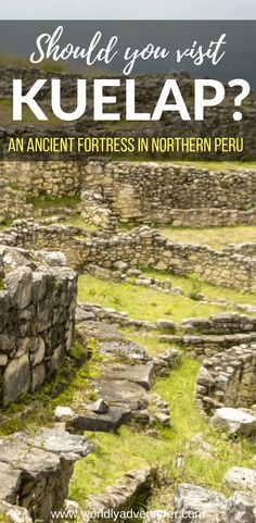 Should you visit Kuelap, Northern Peru's most fascinating - and unknown - ancient citadel? Backpacking South America, South America Travel, Travel Route, Peru Travel, Ways To Travel, Travel Things, Peru Beaches, Adventure Tours, Culture Travel