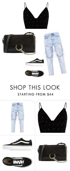 """casual"" by juliadb on Polyvore featuring River Island, Vans and Chloé"
