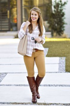 Derby Days By A Lonestar State Of Southern Preppy Fall Fashion, All Black Fashion, Winter Fashion Outfits, Autumn Winter Fashion, Fall Outfits, Casual Outfits, Fashion Fashion, Fashion Tips, Feminine Fashion