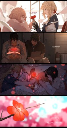 A tribute to Kyoto Animation Kyoani Anime, Fan Art Anime, All Anime, Anime Love, Violet Evergreen, Violet Evergarden Anime, Arte Do Kawaii, Kyoto Animation, Anime Lindo