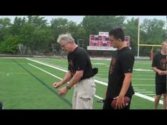 QB Drills and Skills for Youth Football - YouTube