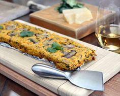 Savory Carrot-Mushroom Pâté ♥ AVeggieVenture.com, a lovely vegetable spread. Low Cal. Low Carb. Gluten Free. Weight Watchers SmartPoints 2.