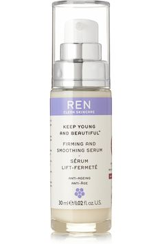 Ren Skincare|Keep Young and Beautiful Firming and Smoothing Serum