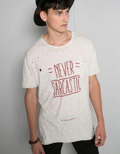Koszulka z nadrukiem w stylu boho