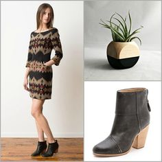 BLISS - i heart the portland collection. love the boots. Secret pocket to carry a chic airplant.