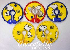 Snoopy Peanuts Gtube Covers Gtube Pads Mic-Key Mickey Button Snoopy on Yellow Fabric by AdorabellyDesign on Etsy