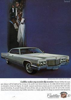 1970 Cadillac Sedan DeVille Ad