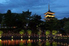 LIFESTYLE / TRAVEL 古都奈良の夏の夜を彩る無数の灯り。